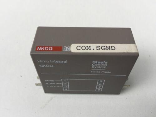 Landis /& Staefa NKDG Control System Klimo integral N-KDG ROT