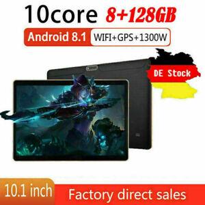10,1 Zoll 4G-LTE Tablet Android 8.0 Bluetooth PC 8 + 128G SIM GPS Dual Kamera