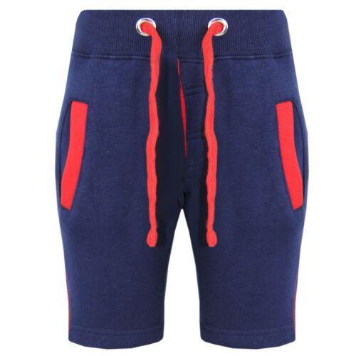 Kids Boys Shorts Fleece Navy Chino Shorts Knee Length Half Pant Age 2-13 Years