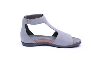 Naot Nala Mujer Zapatos Sandalias Cuña De Cuero Gladiador Plano Tanga Nuevo Punta Abierta