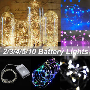 2-10-M-LED-Battery-Powered-Copper-Wire-String-Fairy-Xmas-Party-Lights-Warm-White