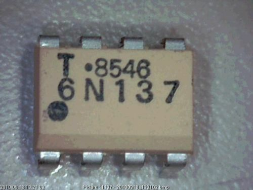 High Speed DIP-8 Optokoppler 6N137 Optocoupler High CMR