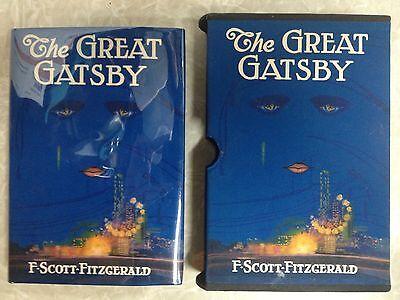 F.Scott Fitzgerald~The Great Gatsby-Very Nice Copy with Custom Slipcase-GREATEST