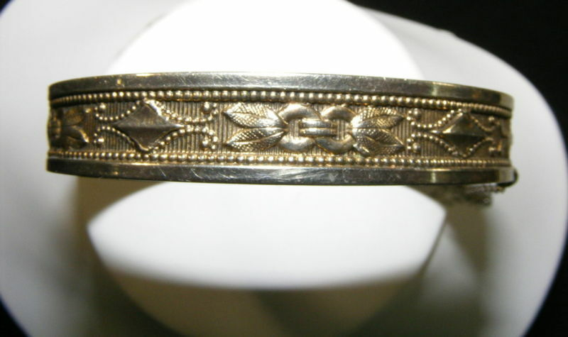 Vintage Whiting & Davis Hinge Bracelet