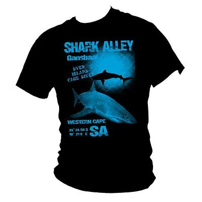 Shark WOMENS T-SHIRT Tee Great White Diving Divers Funny Present birthday gift