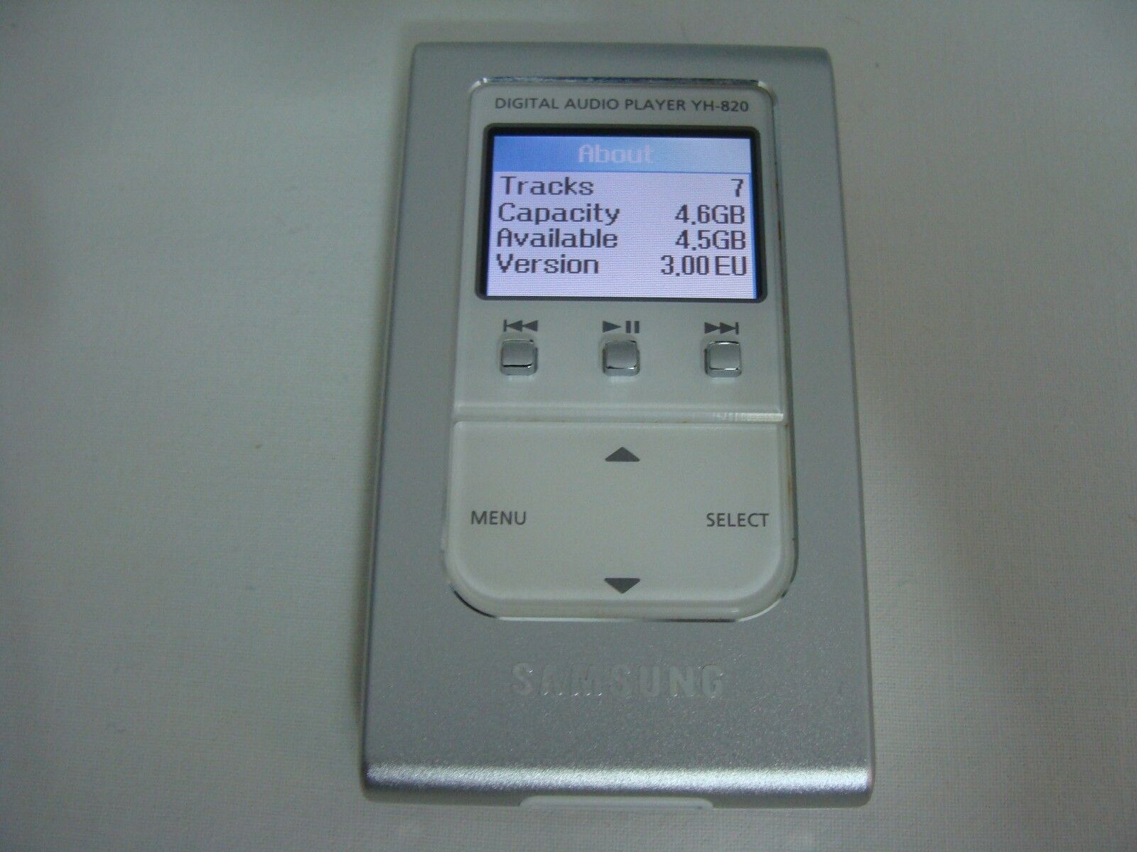 DIGITAL AUDIO PLAYER YH-820 DRIVERS FOR PC