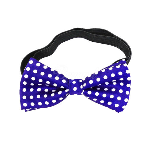 USA Polka Dots Suspender and Bow Tie Set for Baby Toddler Kids Boys Girls