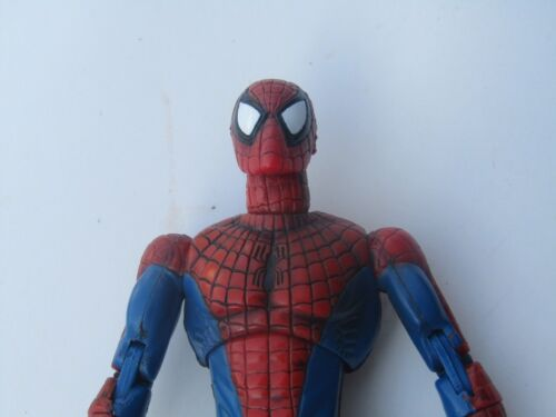 LOOSE Toybiz Marvel Legends Spiderman Red Blue