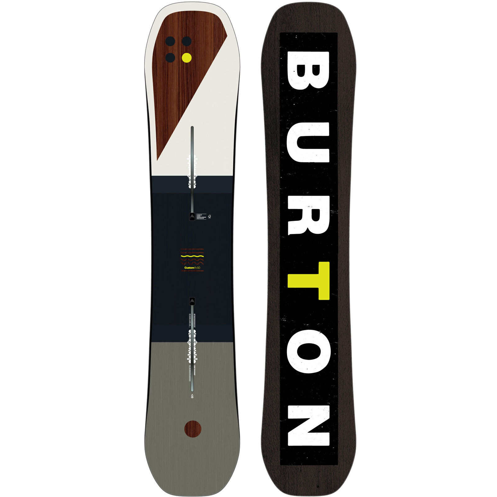 Burton Custom FV FV FV Flying V Herren Snowboard Freestyle Freeride 2018-2019 NEU cc380d