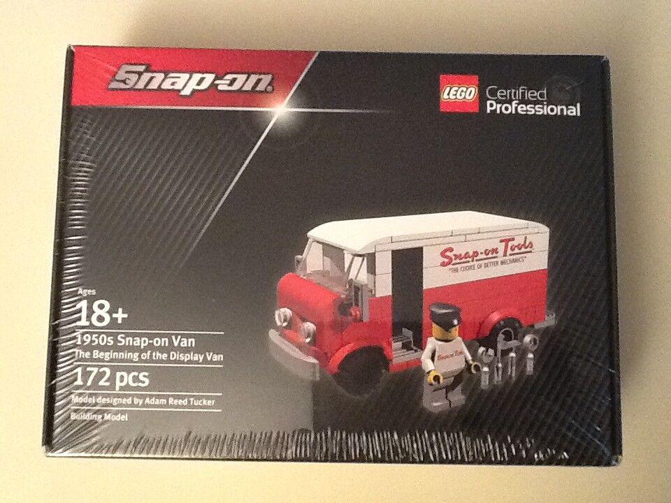 Lego certificación Profesional Snap on tools década de 1950 van herramienta camión SSX17P136 Rara