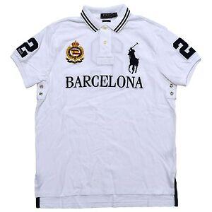 6ba6896c Polo Ralph Lauren Mens Big Pony City Custom Fit Mesh Polo Shirt | eBay