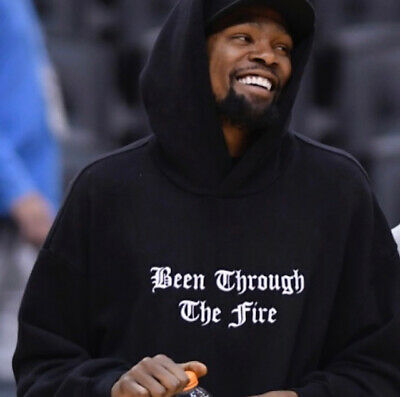 Been Through The Fire Hoodie S-2XL Warriors Inspired by Kevin Durant KD