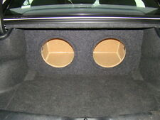 "2011-2016 Dodge CHARGER SUB BOX Subwoofer Enclosure w/Recess Holes 2-12"""