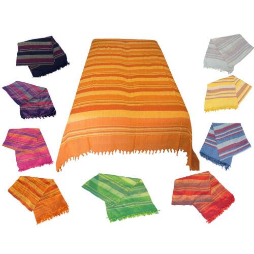 Couverture de jour Plafond XXL Bettüberwurf sofaüberwurf fauteuil paréo Népal COTON *