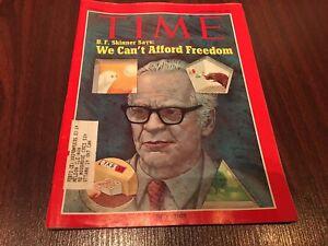Time-Magazine-September-20-1971-B-F-Skinner-Says-We-Can-039-t-Afford-Freedom