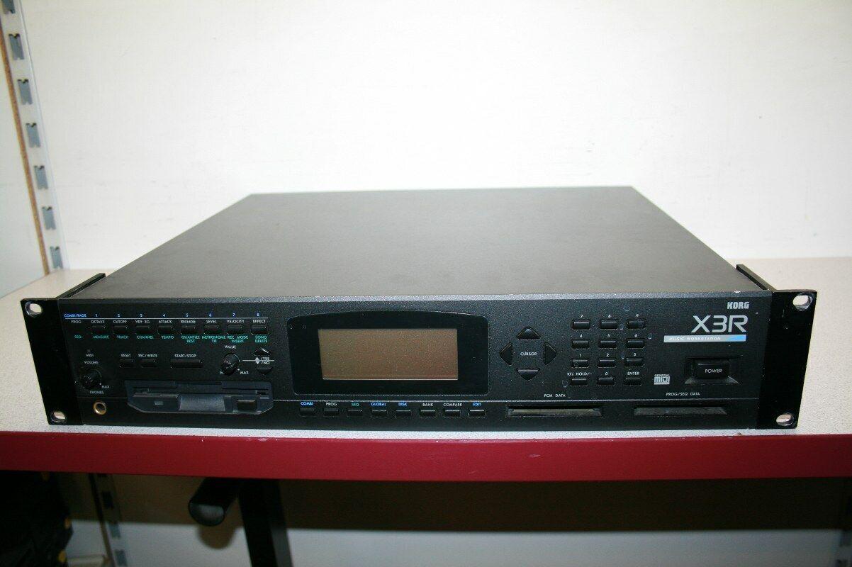 Korg X3R Synthesis Workstation Instrument gebraucht