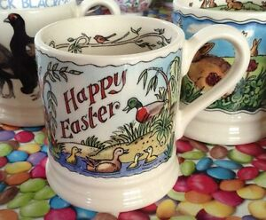 Emma Bridgewater Happy Easter 05 mug New First Best DISCONT - <span itemprop=availableAtOrFrom>Sandbach, Cheshire, United Kingdom</span> - Customer satisfaction is a priority. Returns are accepted. Postage charges will be refunded if there has been an unforeseen problem but I must be informed within 7 days of rece - Sandbach, Cheshire, United Kingdom