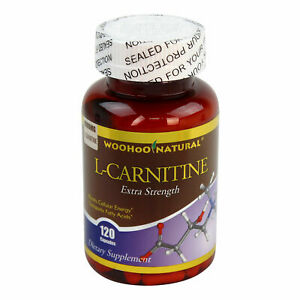 2-x-Extra-Strength-L-Carnitine-500-mg-Fat-Burn-HIGH-POTENCY-120-Caps-Made-IN-USA