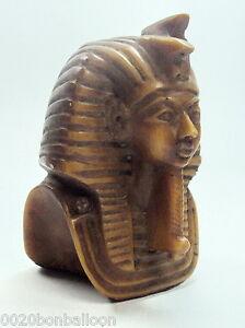 Egyptian Figurine Statue Ancient Sculpture Head Face