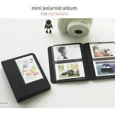 2NUL Photo Album for Fuji Fujifilm INSTAX MINI 50s 7 8s 90 instant film -Black
