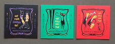 Shag Hint Mint MINI original art prints on tin - Set of 3