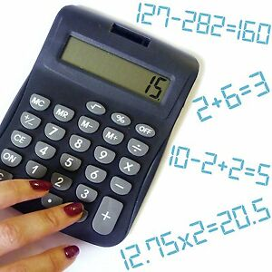 Details about Wrongulator Calculator Office Prank Always Gives Wrong Answer  Joke Funny Gift