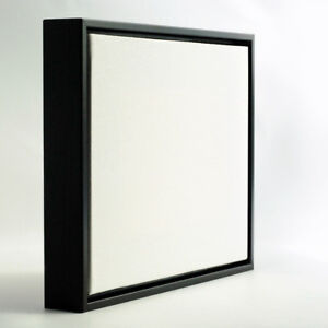 Black Floater Picture Frame 3 Pack 24x48 For Artwork Up To 34