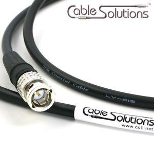 Canare LV-61S Custom Video//Audio//RF//RCA//BNC//F Cable 4m