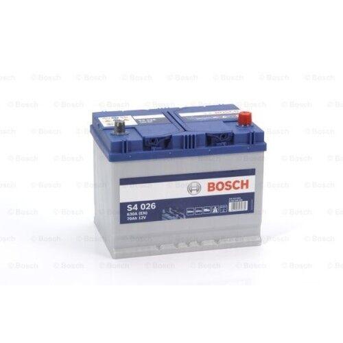 Bosch S4 026 Autobatterie Starterbatterie 12V 70Ah 630A Hyundai Lexus Jaguar 4.2