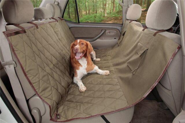 Pet Car Hammock >> Solvit Deluxe Extra Wide Dog Pet Car Hammock Seat Cover Classic Green 62451