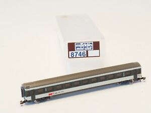 8746-MARKLIN-Z-scale-SBB-2nd-class-Express-Train-Passenger-Car
