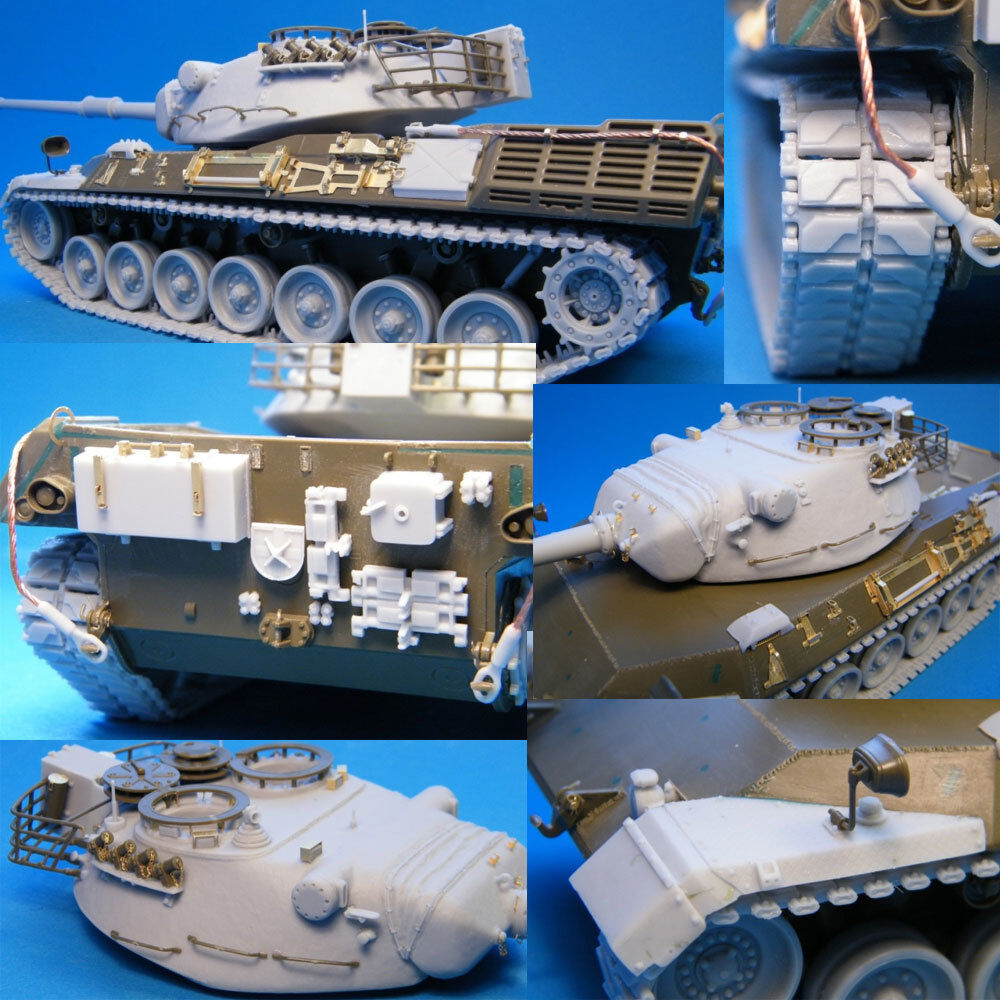 1 35 Leopard 1 Early Batches Conversion kit for Italeri Revell kits