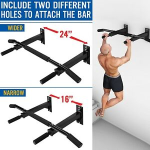 New Wall Mount Home Gym Pull Up Chin Up Bar Fast Shippment