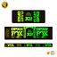thumbnail 8 - STAR SAM® Bike shock absorber Gradient stickers 2021 Fox Float DPX2 Rear Shock