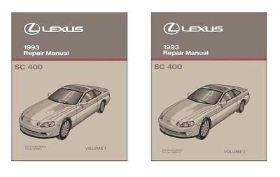 Bishko OEM Maintenance Owner/'s Manual Bound for Lexus LS 400 1993