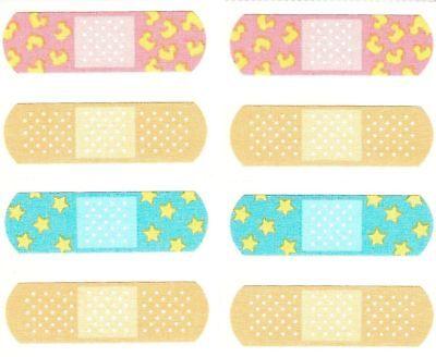 Mrs Grossman/'s BANDAGES Stickers BANDAID NEW