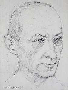 Marek-Rudnicki-1927-2004-Ritratto-di-Jean-Picart-le-Doux-pologne-Rubinstein