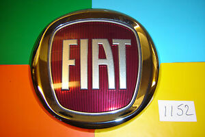 2006-gt-ONWARDS-FIAT-DUCATO-DOBLO-FIORINO-RED-amp-CHROME-REAR-DOOR-BADGE-EMBLEM