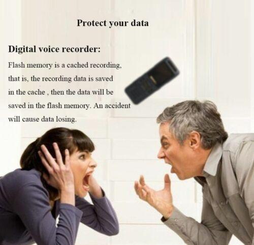 Very Small USB Digital Voice  Mini Audio Recording Charging Portable Flash Drive