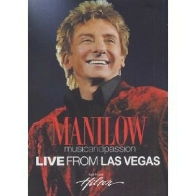 BARRY MANILOW - MUSIC AND PASSION 2 DVD POP NEU