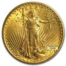 $20 Saint-Gaudens Gold Double Eagle Coin - Random Year - MS-64 PCGS - SKU #7224