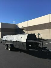 All Stainless Steel 4 X 16 Commercial Open Grill Bbq Pit Tailgating Trailer Fo