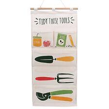 Organizador De Bolsillo Colgante De Pared ordenado// bolsa de almacenamiento/~ ~ ordenado estas herramientas de jardinería