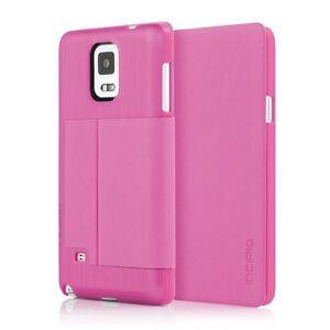 Incipio Highland Thin Premium Folio Case for Samsung Galaxy Note 4 -Pink
