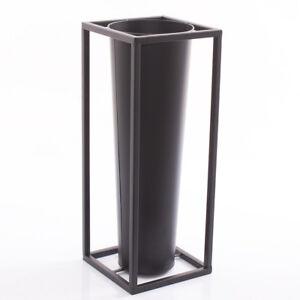 PORTAOMBRELLI-NERO-METALLO-INGRESSO-industrial-moderno-20x51h-minimal-ferro