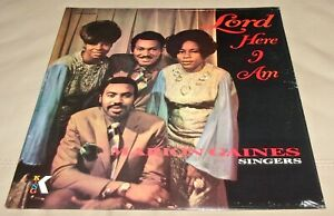 Details about Lord here I Am by Marion Gaines Singers (Vinyl LP, Gospel  Soul Funk Sealed)