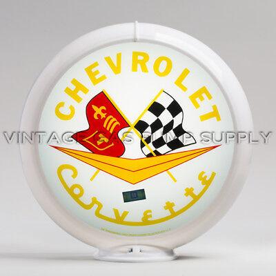 "Only Pontiac Service 13.5/"" Gas Pump Globe FREE SHIPPING U.S G163"