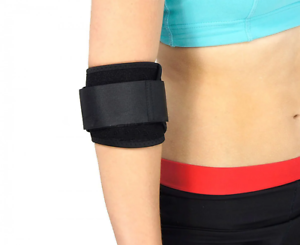 3-layer Design Details about  /Powertrain Elbow Compression Bandage Support 68cm Adjustable Tab