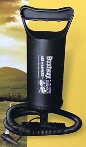 "One Hand Pump Black NIB NEW in Box Bestway Air Hammer Inflation Pump 12/""//30 cm"