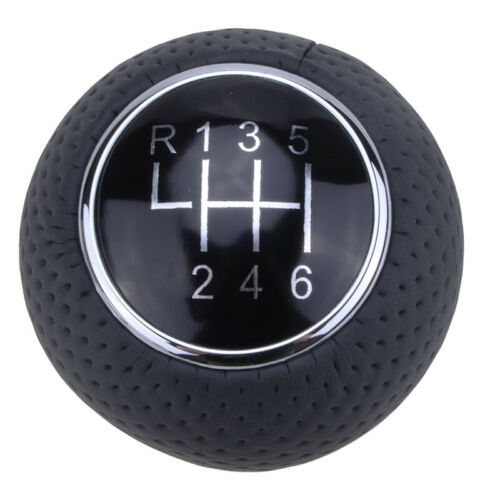 Details about  /Universal Manual 6 Speed Car Gear Stick Shift Knob Shifter Lever Black Ball